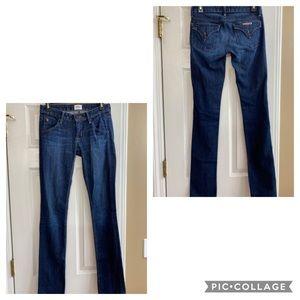 Hudson Jeans dark wash, size 24